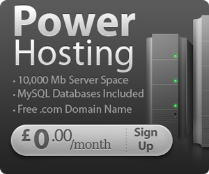 FREE UK Web Hosting